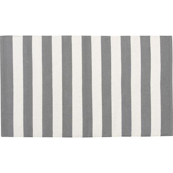Olin Grey Carpet 76x127cm 115tl