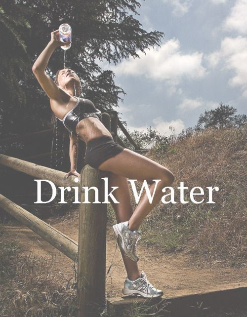 Drink water!Healthy Livin, Healthy Choice, Body Image, Healthy Eating, Healthy Motivation, Fit Inspiration, Exercise Routines, Drink Water, Drinks Water