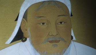 "ten little known facts about Genghis Khan - The man who would become the ""Great Khan"" of the Mongols was born along the banks of the Onon River sometime around 1162 and originally named Temujin, which means ""of iron"" or ""blacksmith."" A description description comes courtesy of the 14th century Persian chronicler Rashid al-Din, who claimed Genghis had red hair and green eyes."