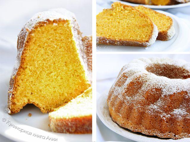 Кулинарная книга Алии: 562. Бразильский морковный пирог