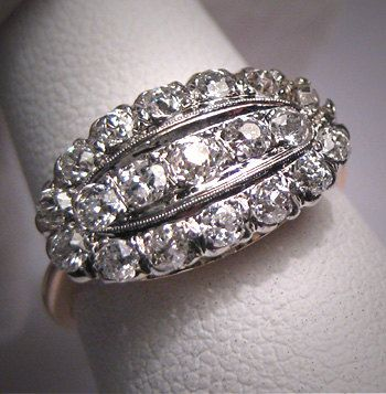 antique diamond wedding ring circa 1920 this ring reminds me of a princess ring i had as a. Black Bedroom Furniture Sets. Home Design Ideas