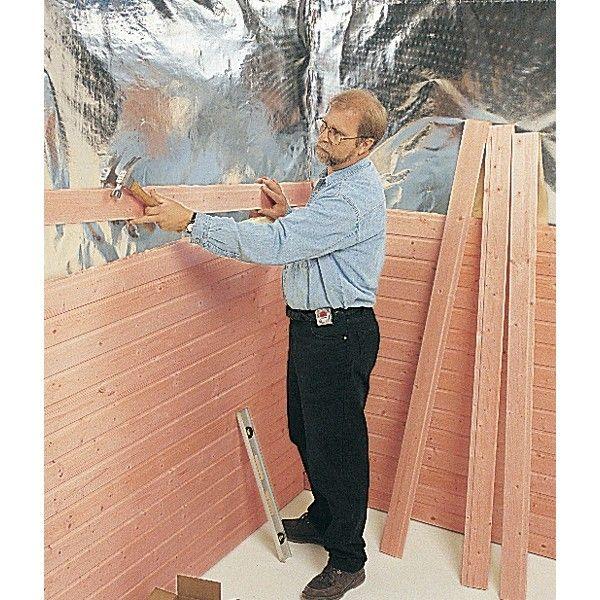 western red cedar in finland? | Easy Custom Sauna Installation (Horizontal Installation Shown)