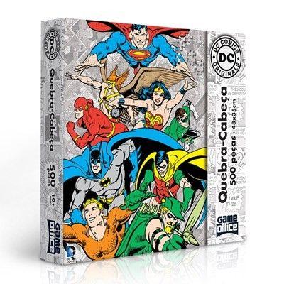 Quebra-cabeça 500 peças – DC Comics Originals – Game Office