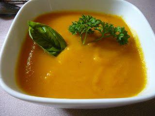 Potage aux carottes et au gingembre Denise