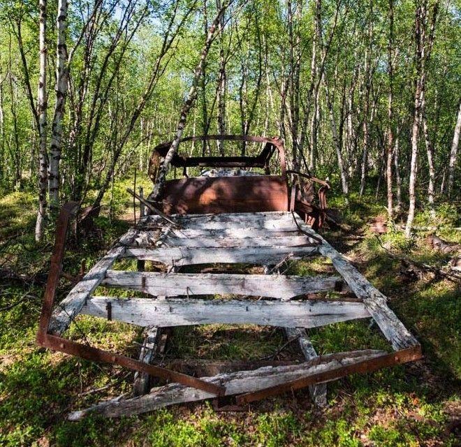 Lasarettmoen - Ortslazarett Skoganvarre : Riddoduottarmuseat