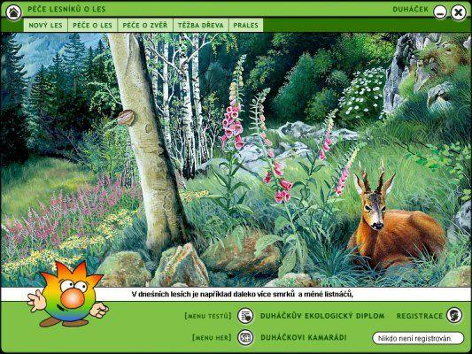 Aplikace na portálu Svět energie - Duháček v lese http://www.svetenergie.cz/cz/aplikace