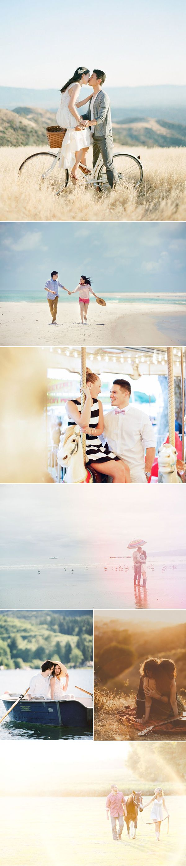 27 Utterly Romantic Natural Lifestyle Engagement Photos