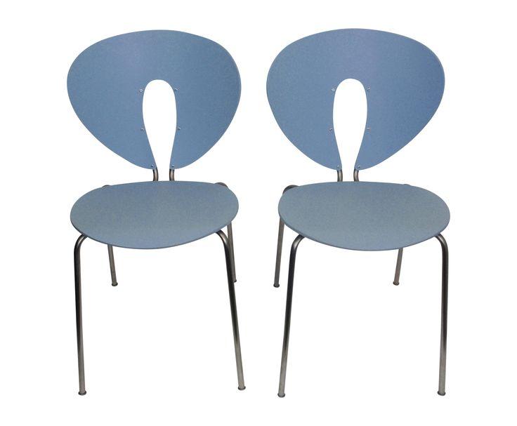 Stua Jesus Gasca Globus Stacking Chairs - Pair  on Chairish.com
