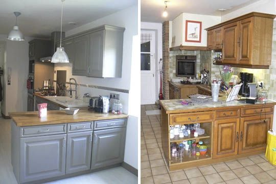 Avant / après cuisine