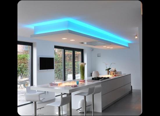 keuken ledstrips verlichting http://www.ledstrip-specialist.nl