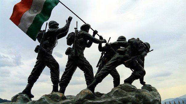 Indian Flag Indian Army Statue Army Images Army Day Army Wallpaper