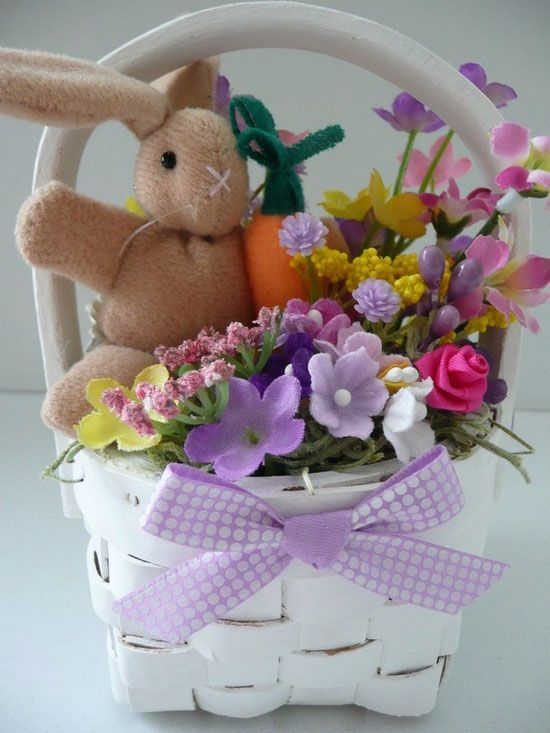 149 best gift baskets host hostess ideas images on pinterest easter bunny gift basket ideas 2013 negle Image collections