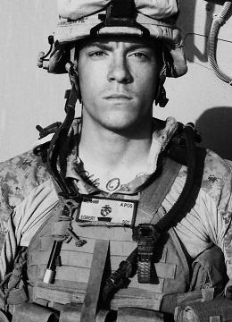 Apparently he's a Marine