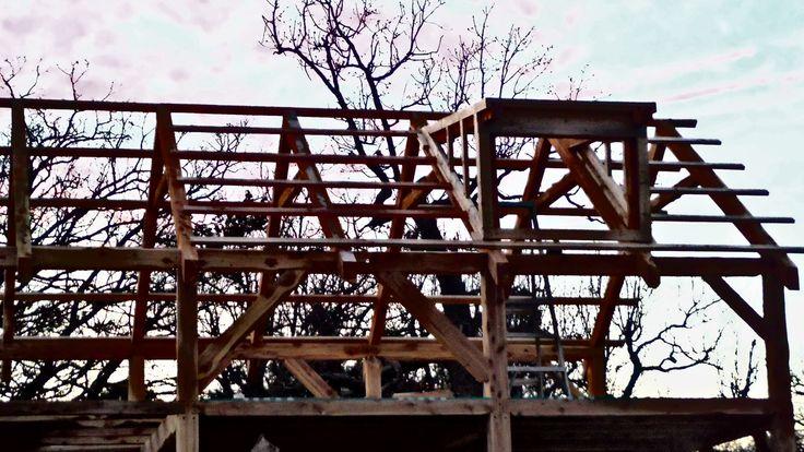 Log Pole Barn House Plans