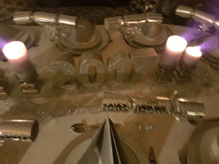 Nyttårs bord