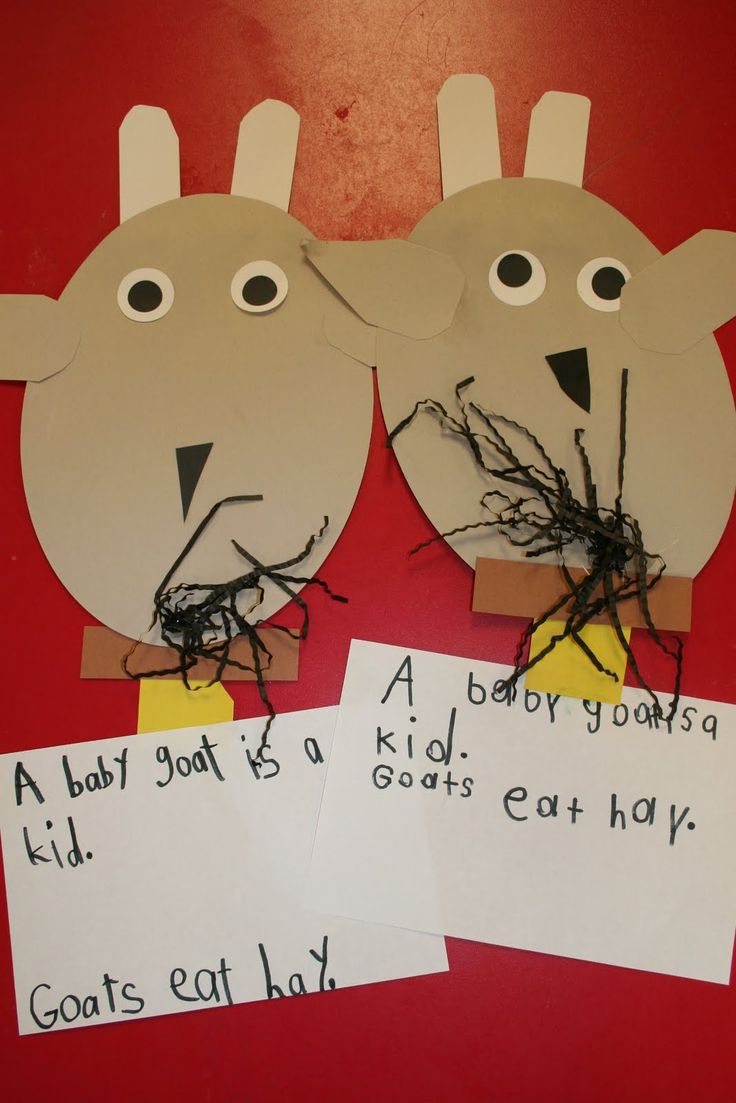 Three Goats Gruff. Nursery rhyme/fairy tale. (Perfect for my On The Farm unit of inquiry)