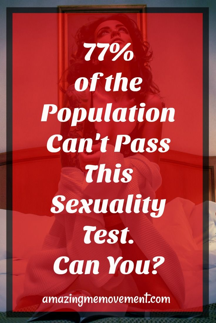 sexuality test with pictures