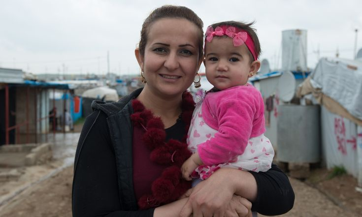 We've lived in a refugee camp in Iraq for four years