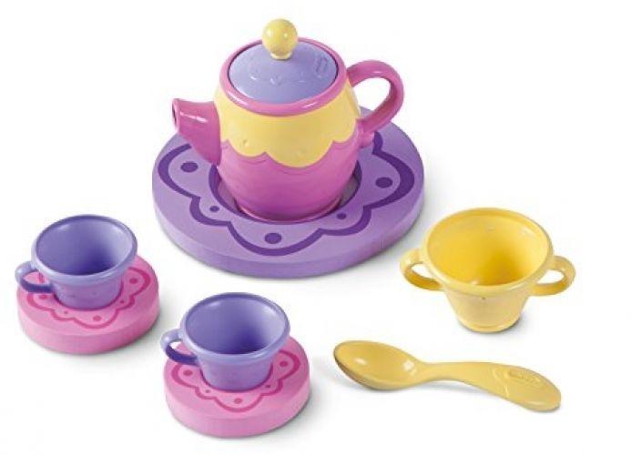 Toddler Tea Set Kids Girls Floating Bath Toy Teatime Pretend Play Gift Toys New #LittleTikes