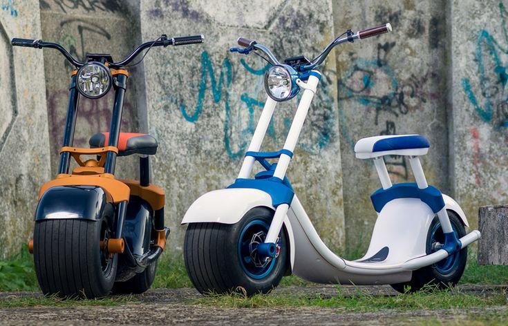 Trei arădeni au creat un scuter MINUNE cu care te poți plimba 100 de km cu doar 50 de bani