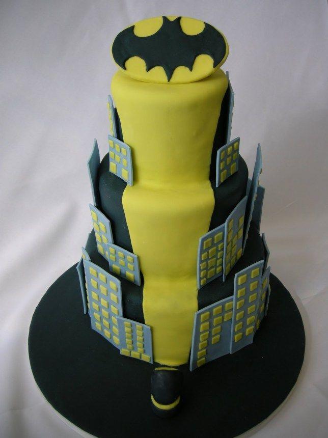 awesome batman wedding cake   Wedding cakes   Pinterest   Batman ...