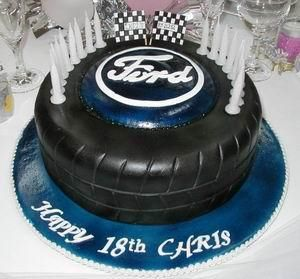 149 best Ford Treats images on Pinterest Mustang cake Cake ideas