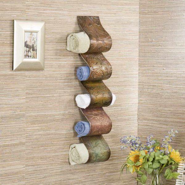 Best Towel Warmer Rack Ideas On Pinterest Bathroom Towel - Unique towel rack designs for small bathroom ideas