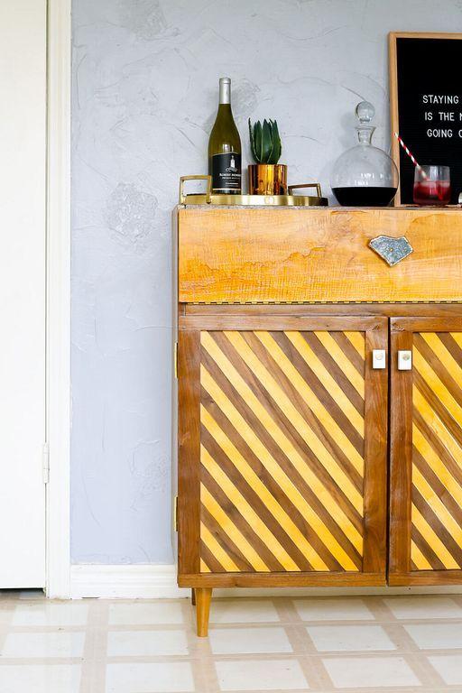 140+ Modern Bar Cart Design Ideas From Wood