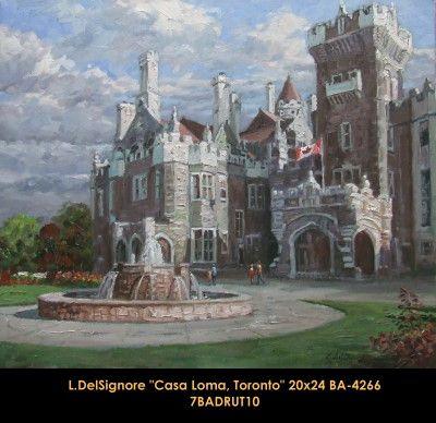 Original oil painting on canevas by Littorio Del Signore #Littoriodelsignore #artist #canadianartist #quebecartist #art #fineart #figurativeart #originalpainting #oilpainting #summerscene #castle #balcondart #multiart