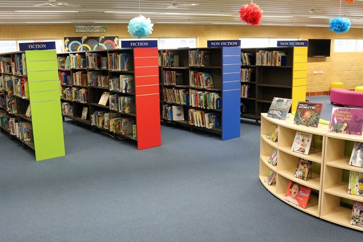 Library furniture to inspire young minds