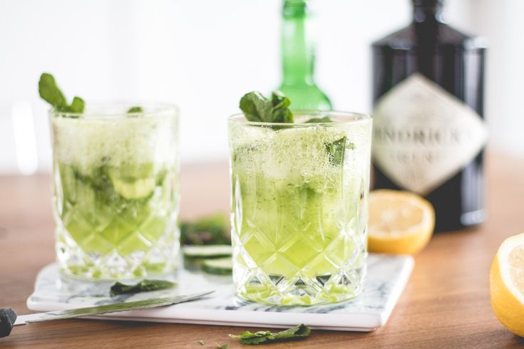 Bubbly Friday: Green Tonic | The Daily Dose