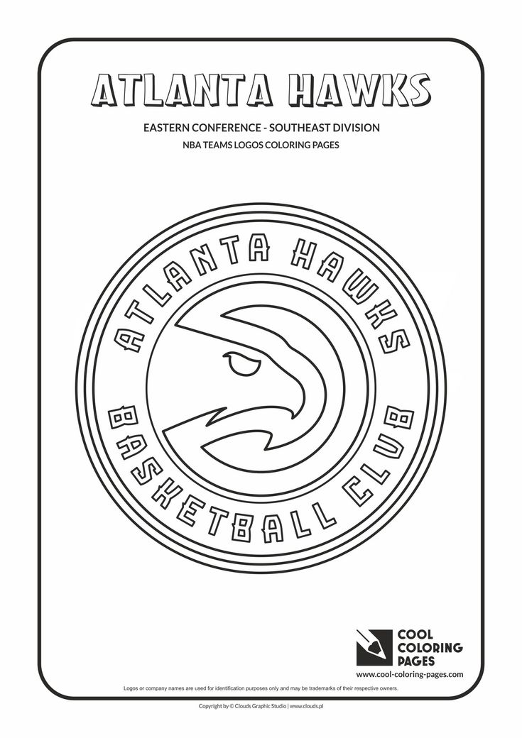 Cool Coloring Pages - NBA Basketball Clubs Logos - Easter Conference - Southeast…