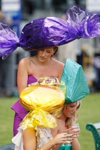 Kentucky Derby 2012: Craziest racing hats ever - NY Daily News-looks like a big pieces of candy.