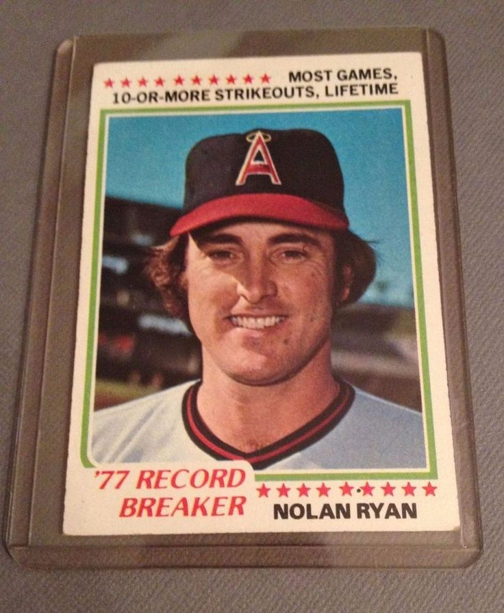 1978 topps nolan ryan record breaker 6 california