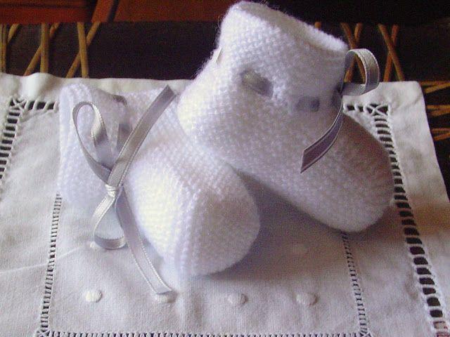 Laetiquetadelana Tutoriales: Patucos para bebe