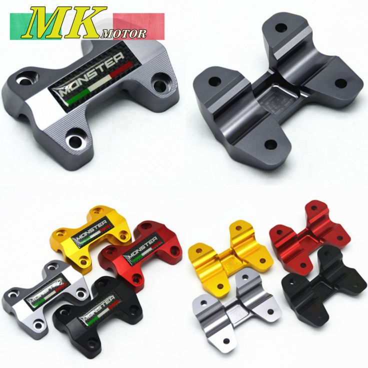Ducati Monster 821 >> MONSTER821 For DUCATI 821 MONSTER 821 2013-2016 Motorbike CNC Handlebar Risers Top Cover Clamp ...