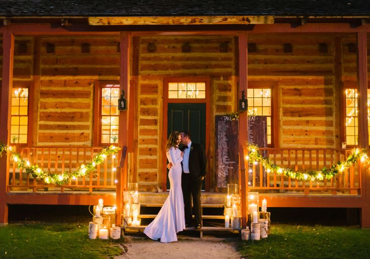 Winnipeg's Fort Gibraltar is the ideal venue for a couple looking for a rustic yet modern setting.