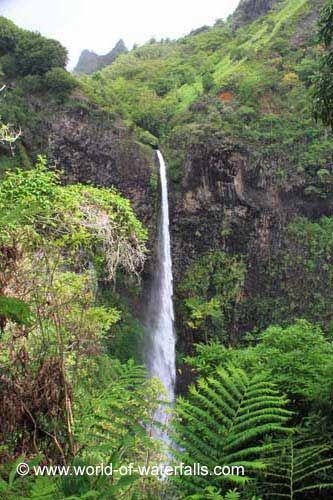 Fautaua Waterfall,Papeete District,Tahiti Island..Spectacular...