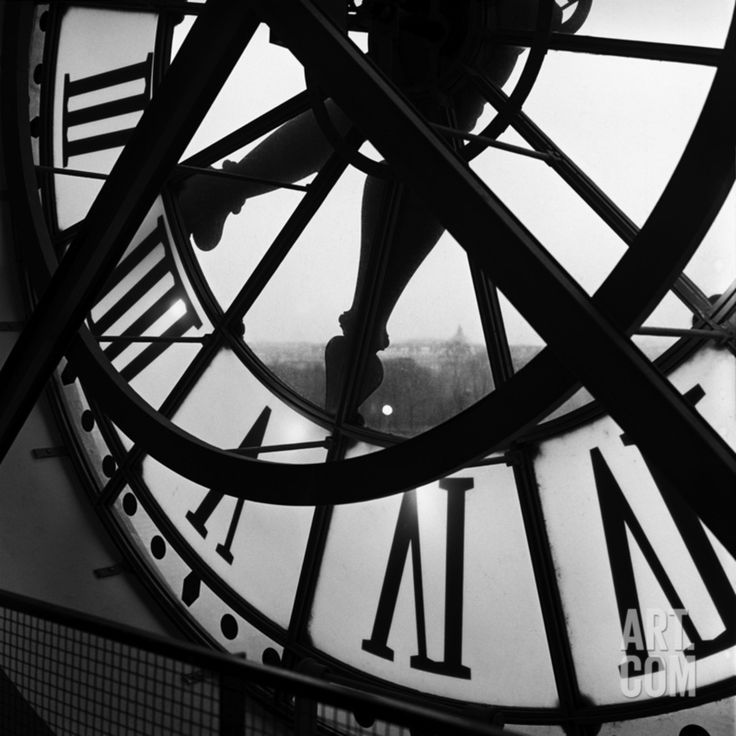 Orsay Clock, by Tom Artin