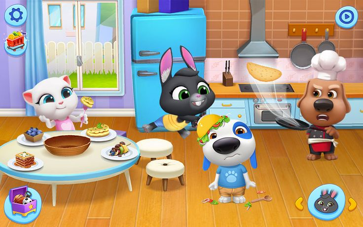 My Talking Tom Friends Outfit7 in 2020 My talking tom