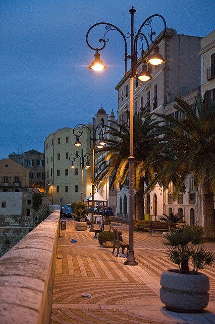 Bastione Santa Croce, Cagliari, Sardinia, Italy