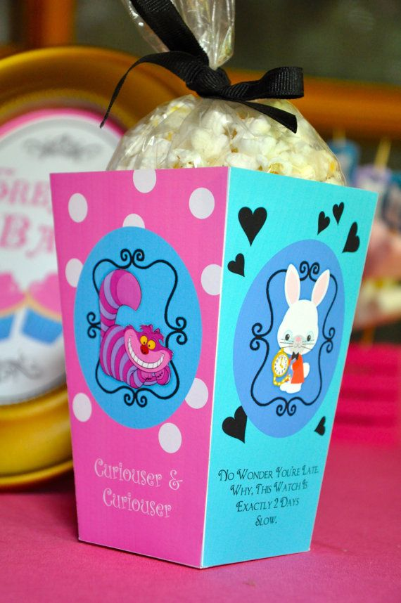 Baby Shower Favors Alice In Wonderland ~ Alice in wonderland mad hatter inspired tea party