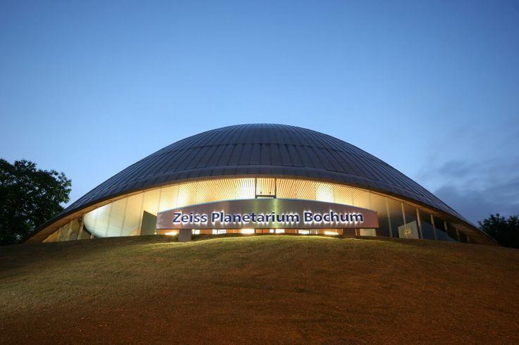 Bildergebnis für Planetarium bochum nacht