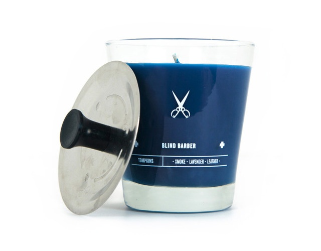 Treasure little things that bring you joy: Candles Gifts, Tompkin Candles, Barbers Tompkin, Gifts Ideas, Barbers Candles, Barbershop Candles, Barbers Shops, Scented Candles, Blinds Barbers