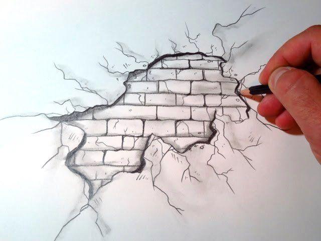 رسومات ثلاثية الأبعاد 3d باقلام الرصاص Pencil Sketch متقنة جدا فن صورة ٢٦ Meaningful Drawings Cool Easy Drawings Drawing Tutorial Easy