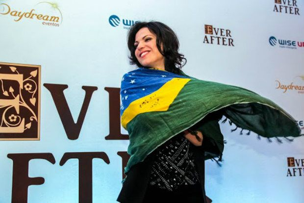 Lana at #EverAfter con. 26 June 2015