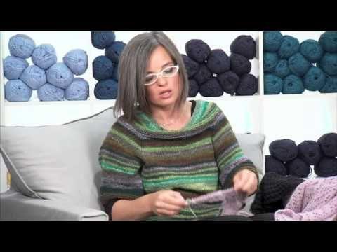 Realizzare uno scialle a maglia/3 Presenta Emma Fassio - YouTube