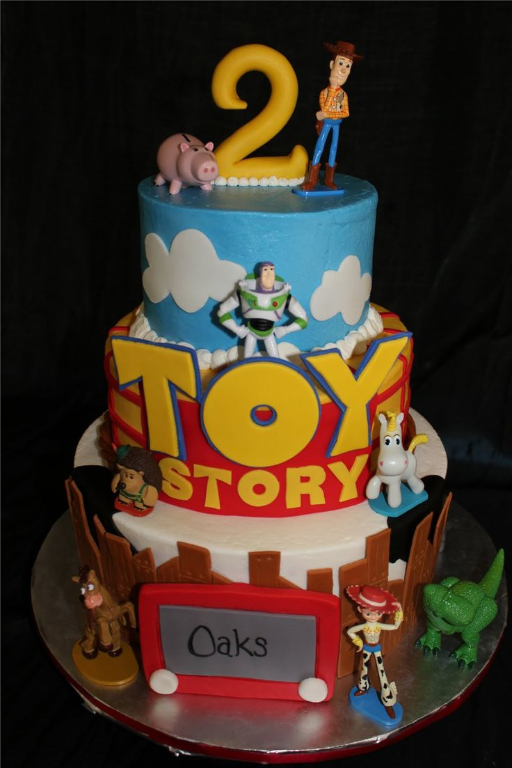 Cute Toy story cake for a little boy :)