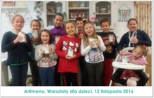 Warsztaty kreatywne dla dzieci - zimowy lampion oraz instrukcja krok po kroku.