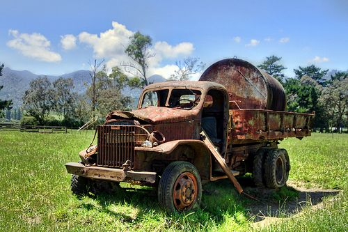 Old Gmc Cckw Us Army Truck From World War Ii Waikato New